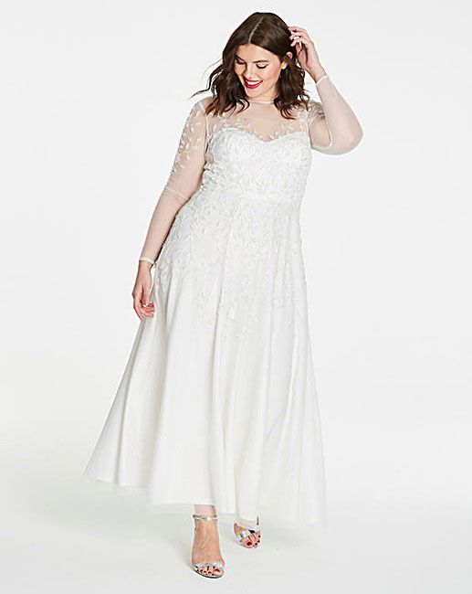Cheap plus size wedding dresses - Joanna Hope