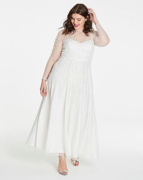 b0aa5b558415 Cheap Plus Size Wedding Dresses 2018 - 13 of our High Street Favourites