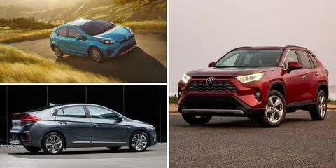Est Hybrid Cars And Suvs Of 2019