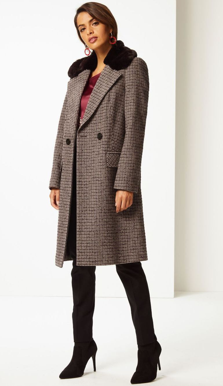 Marks & Spencer winter coats