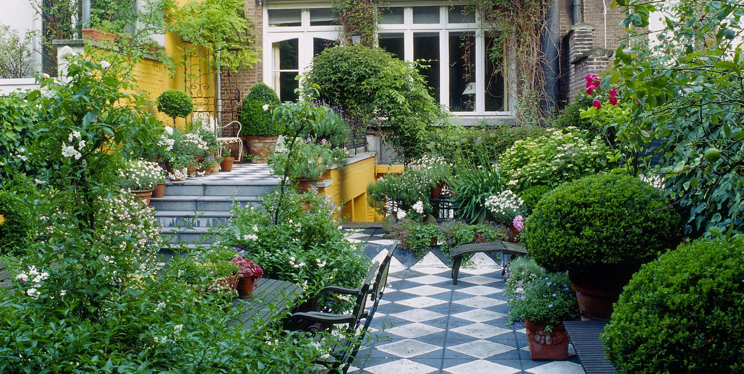 Long narrow garden design ideas garden shape ideas