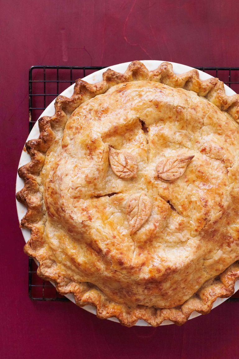 cheddar-crusted apple pie
