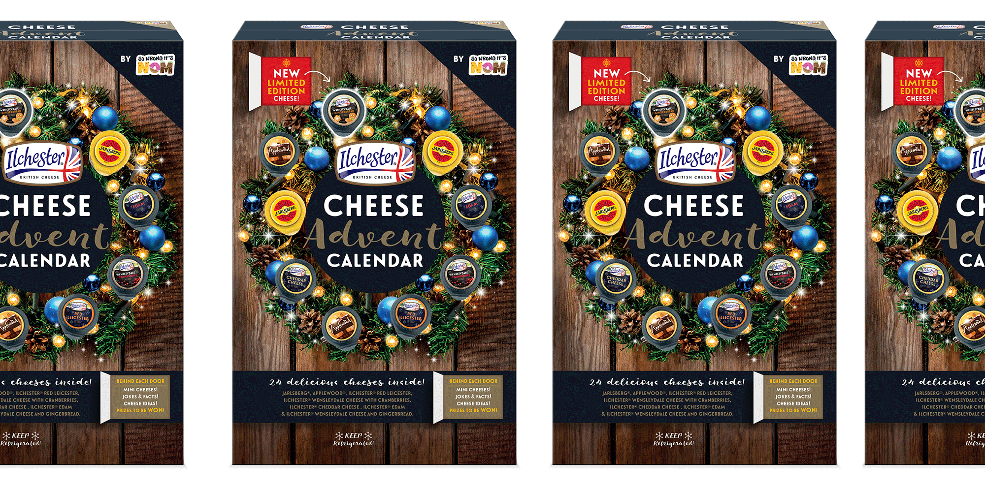 Cheese Advent Calendar 2020 Sainsbury's launches a cheese advent calendar for 2018, and we can