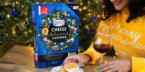 Cheese advent calendar