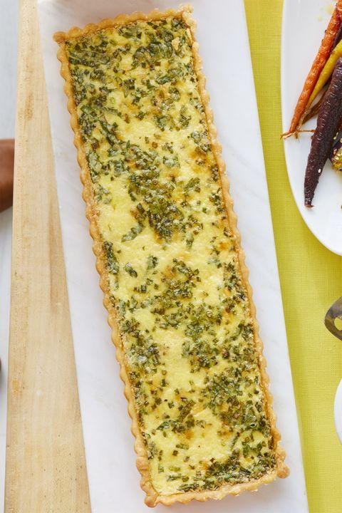 cheese herb quiche