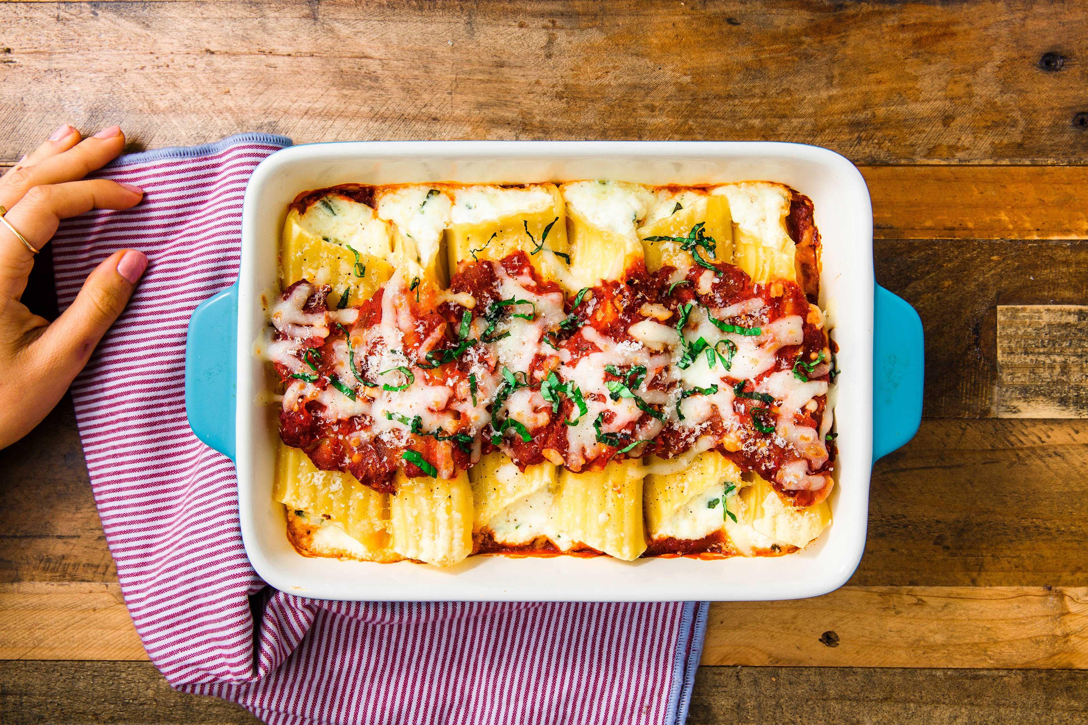 garanzia di alta qualità sentirsi a proprio agio grande sconto del 2019 Cheese Manicotti