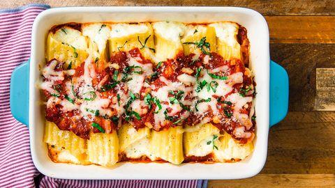 Dish, Food, Cuisine, Ingredient, Comfort food, Rigatoni, Produce, Cannelloni, Staple food, Recipe,
