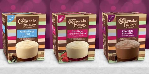 The Cheesecake Factory Launched Pudding Cups in Stores, and Flavors Include Cake Batter