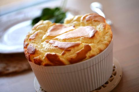 cheese souffle date night