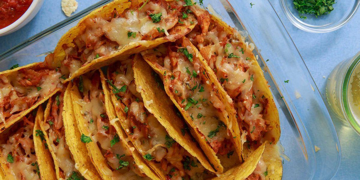 Best Cheesy Baked Tacos Recipe How To Make Cheesy Baked