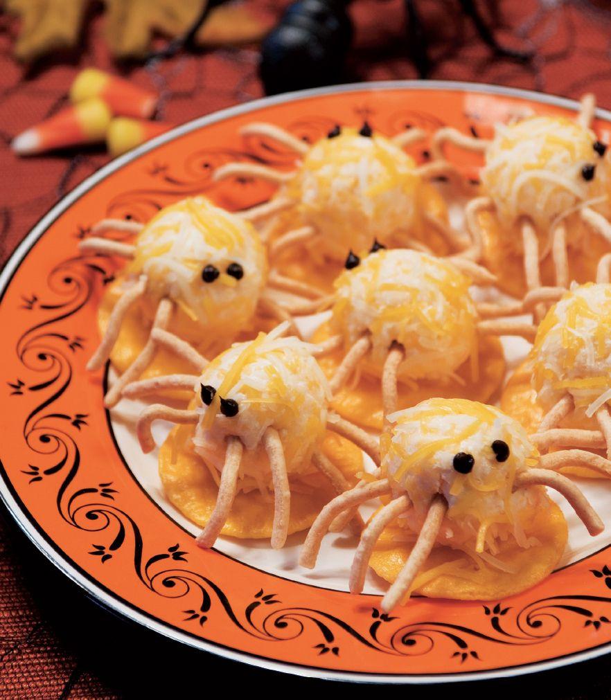 Cheesy Spiders