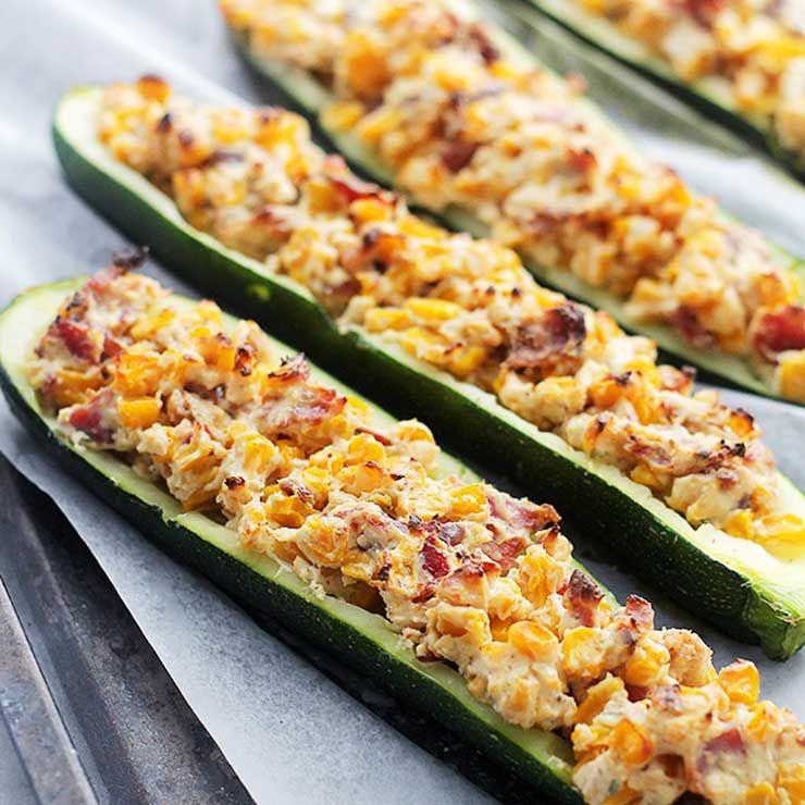 8 Crazy-Easy Stuffed Zucchini Recipes
