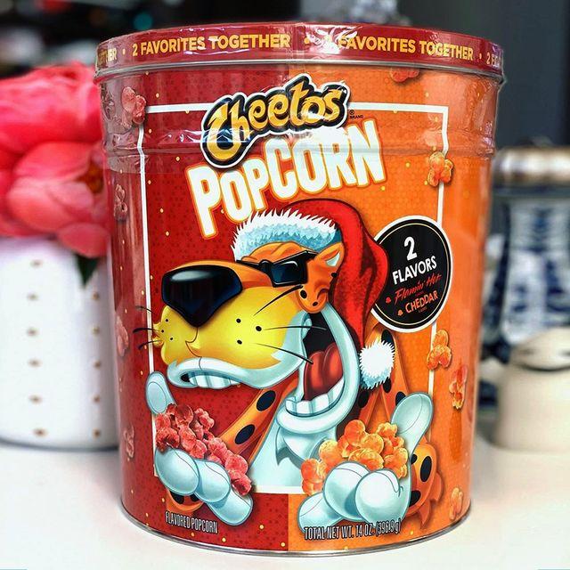 cheetos gift tin