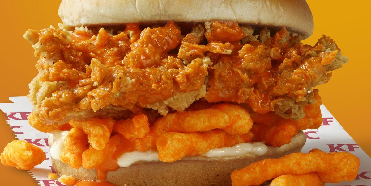 Kfc is testing out a new cheetos sandwich kentucky fried - Kentucky french chicken ...