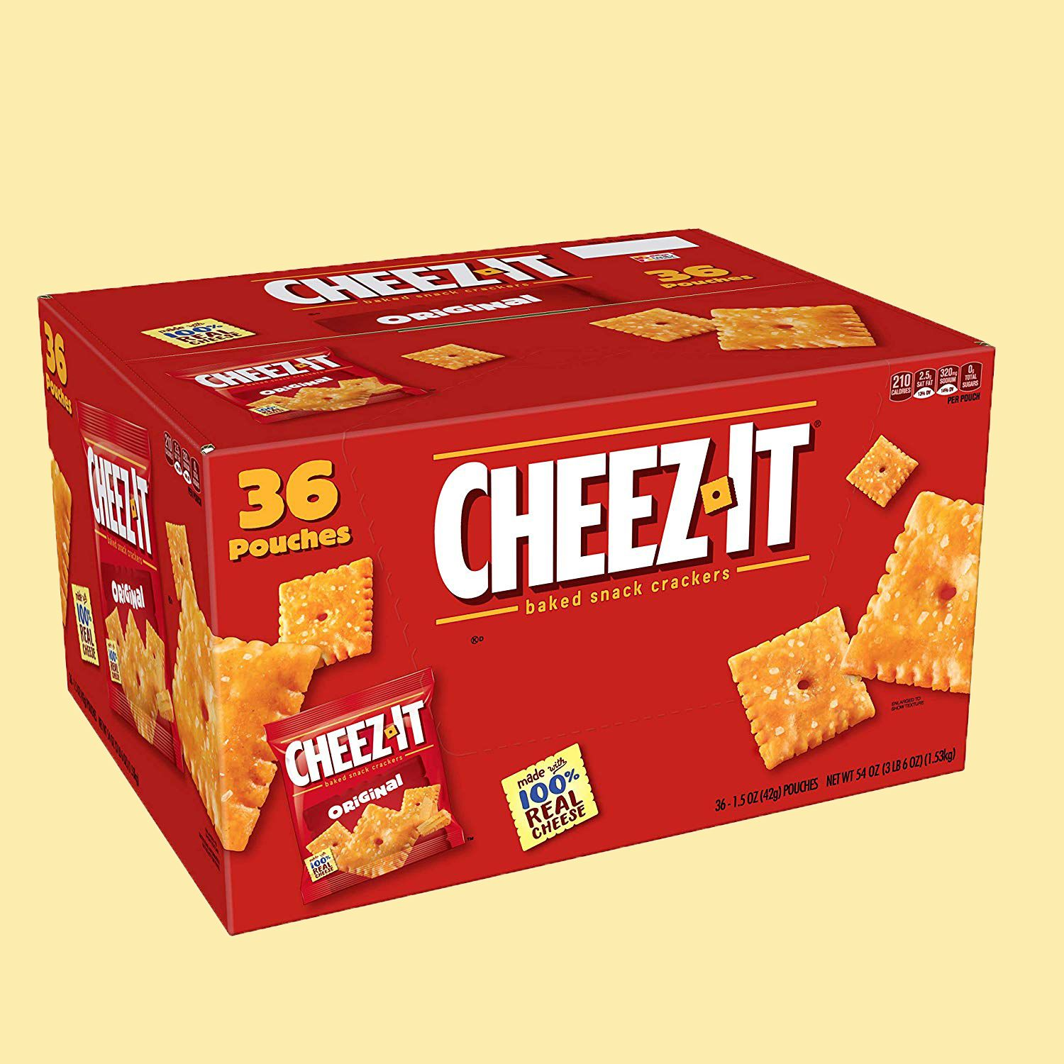 The Best Amazon Prime Day Deal Is This Giant $8 Cheez-Its Box