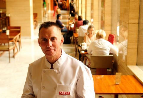 Profile shoot of Chef Gary Rhodes