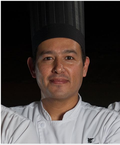 israel cetina, executive chef of marriott cancun collection