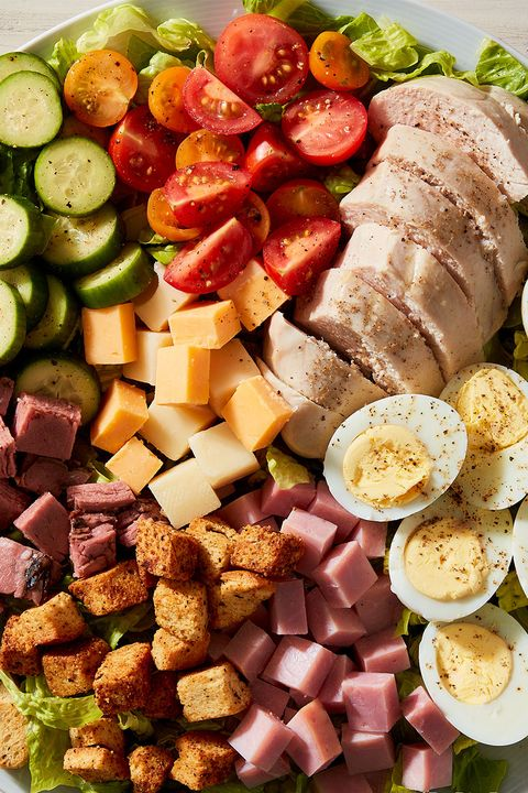 chef salad  delishcom