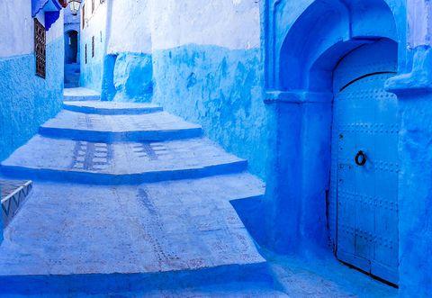 Chefchaouen la città blu del marocco