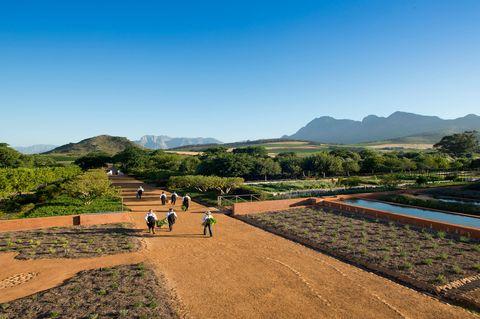Sky, Hill, Mountain, Landscape, Tourism, Rural area, Grass, Tree, Soil, Road,