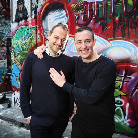 Daniel Humm & Will Guidara Portrait Shoot