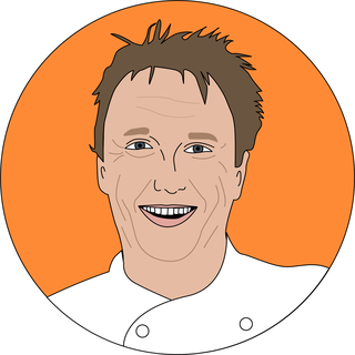 illustrations of popular chefs
