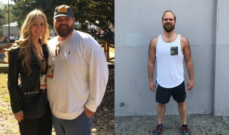 Weight Loss Transformation - Chef Jean-Paul Bourgeois of NYC's Blue Smoke Restaurants on His 100 ...