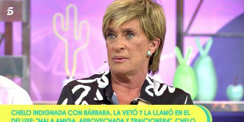 Chelo García Cortés responde a Bárbara Rey