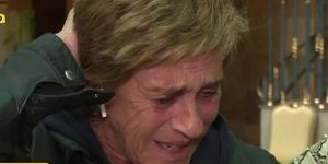 Chelo, Chelo García Cortés, Marta Roca Carbonell, Marta mujer de Chelo, Chelo, destrozada al hablar de la participación de Marta en 'Sábado Deluxe', Chelo llora por el estreno de su mujer en TV, El miedo de Chelo a que su mujer se convierta en personaje público, Las lágrimas de Chelo horas antes del estreno de su mujer Marta en TV