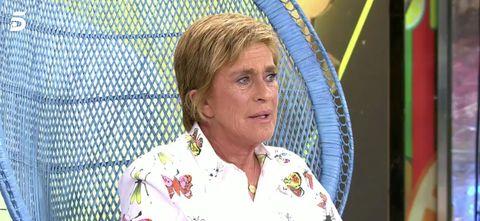 Chelo García Cortés renuncia a Supervivientes por su mujer