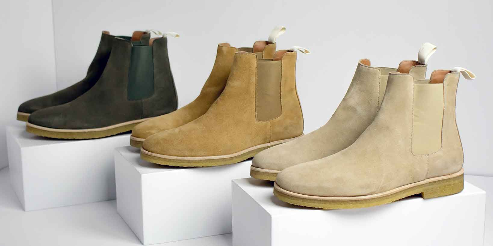 This Luxe Sneaker Startup Just Launched Chelsea Boots—and You're Going to Want a Pair