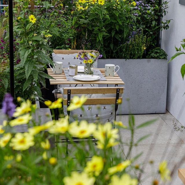 chelsea flower show 2021  the landform balcony garden designed by nicola hale