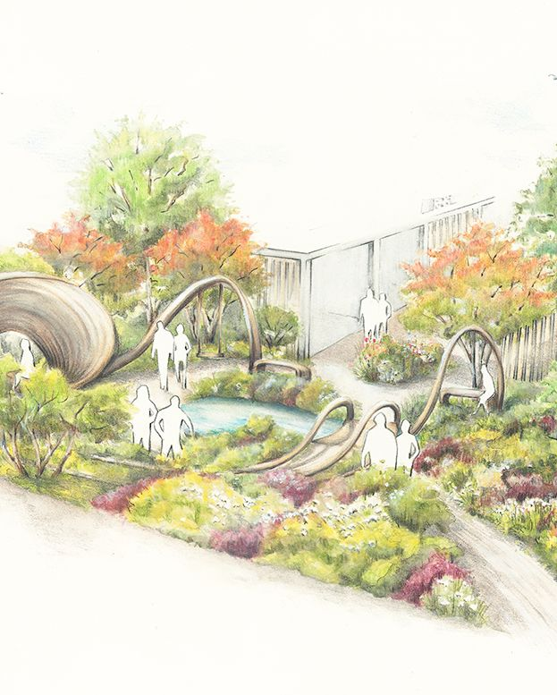 the bbc one show and rhs garden of hope designed by arit anderson