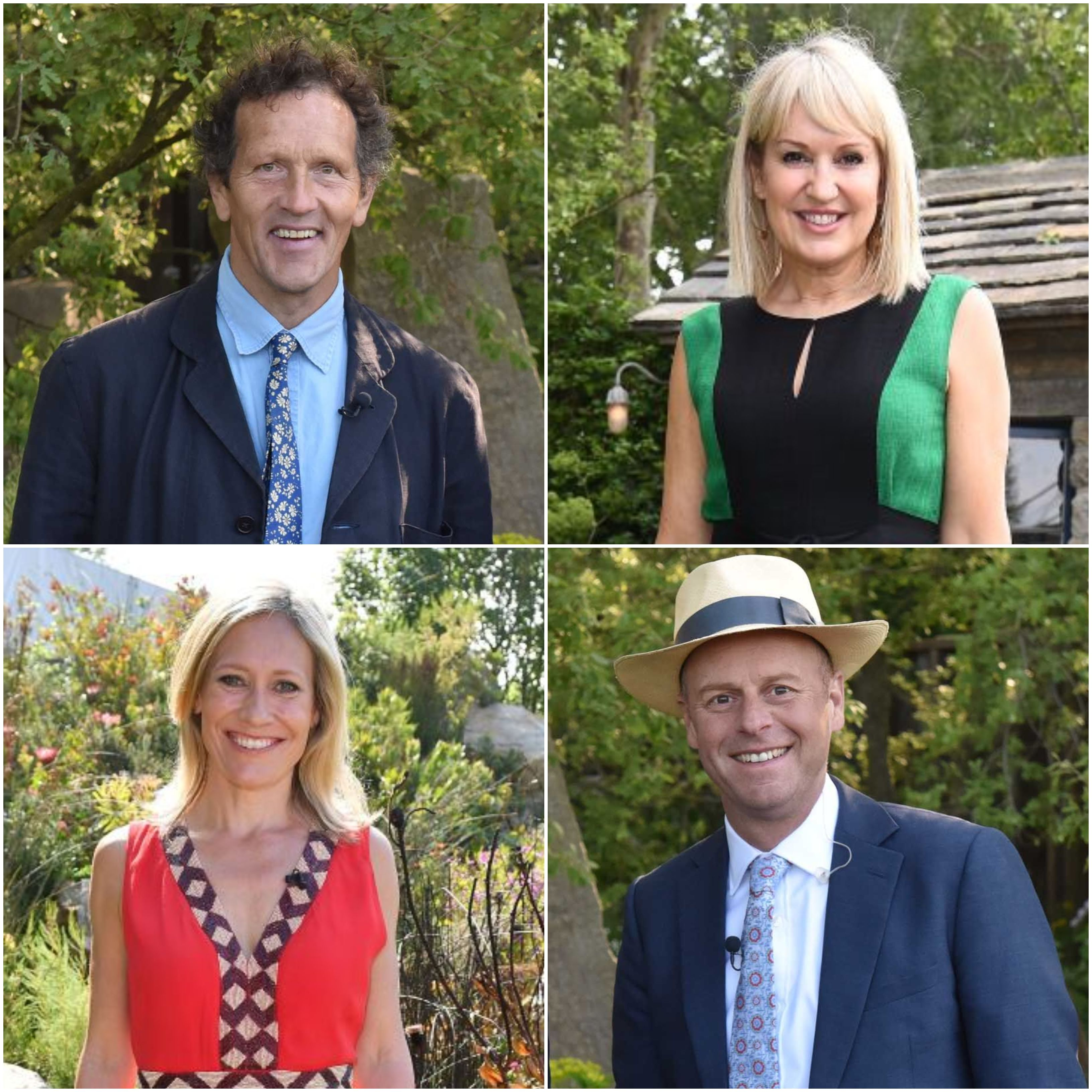 Chelsea Flower Show 2020 presenter line-up includes Nicki Chapman, Monty Don, Joe Swift and Sophie Raworth
