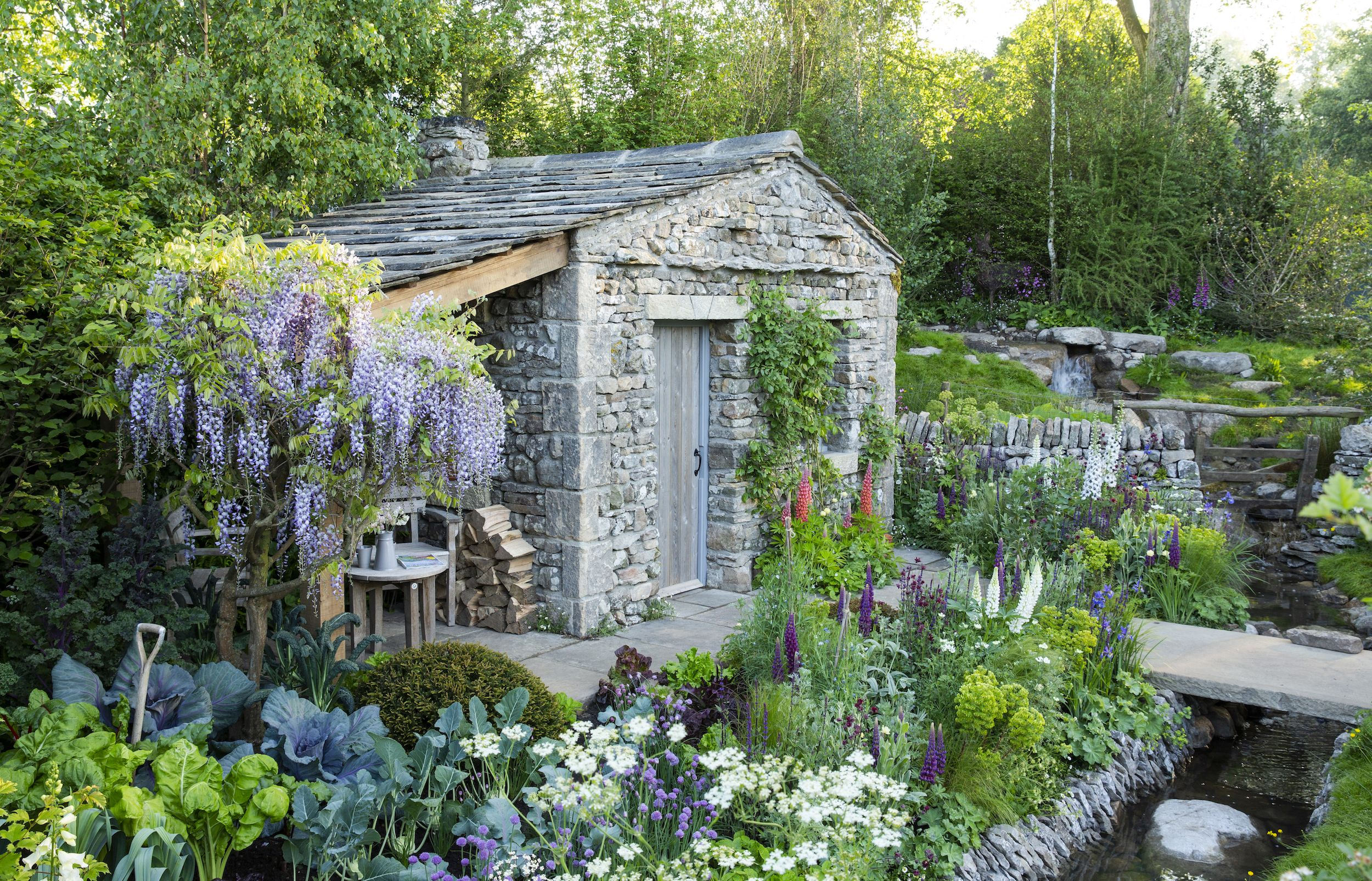 Exclusive interview: Mark Gregory's Welcome To Yorkshire Garden wins People's Choice Garden of the Decade