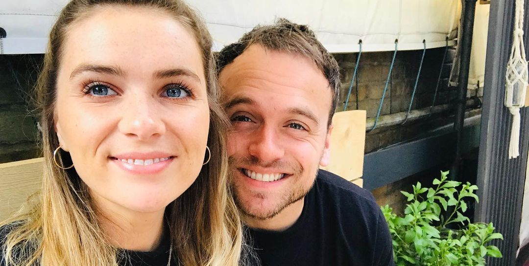 Former Emmerdale stars Chelsea Halfpenny and James Baxter are engaged