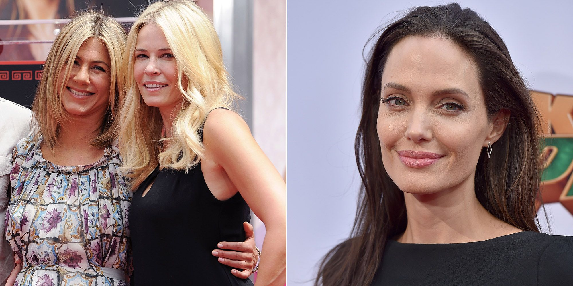 Jennifer Aniston's BFF Chelsea Handler Calls Angelina Jolie a