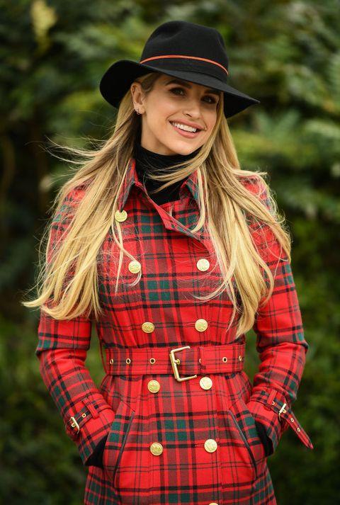Vogue Williams at Cheltenham Racing Festival - Ladies Day