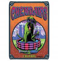 Marijuana strain poster Chemdawg from Calafari