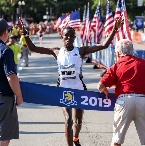 BAA 10K Women's Course Record Falls in Dominant Performance