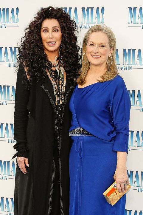 cher and meryl streep