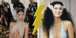 Cher versus Emily Ratakowjski