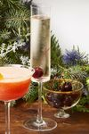New Year Cocktail Drink