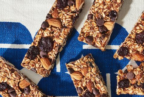cherry chocolate granola bars recipe