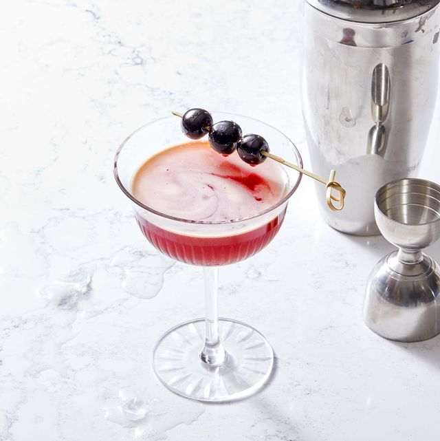 cherry sidecar cocktail