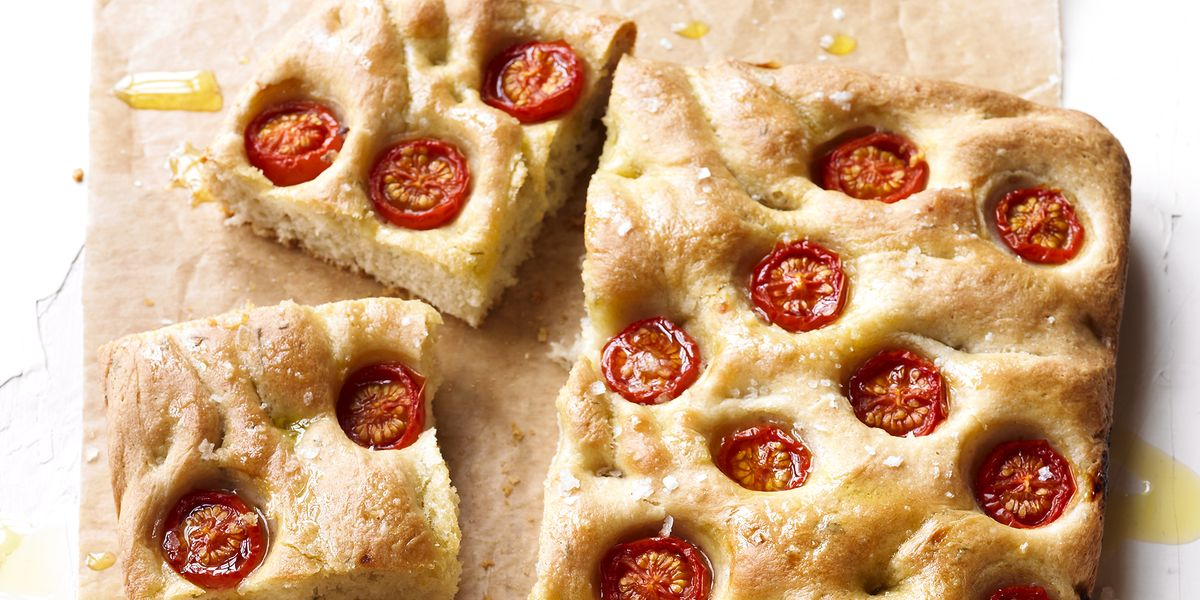 How to make cherry tomato focaccia