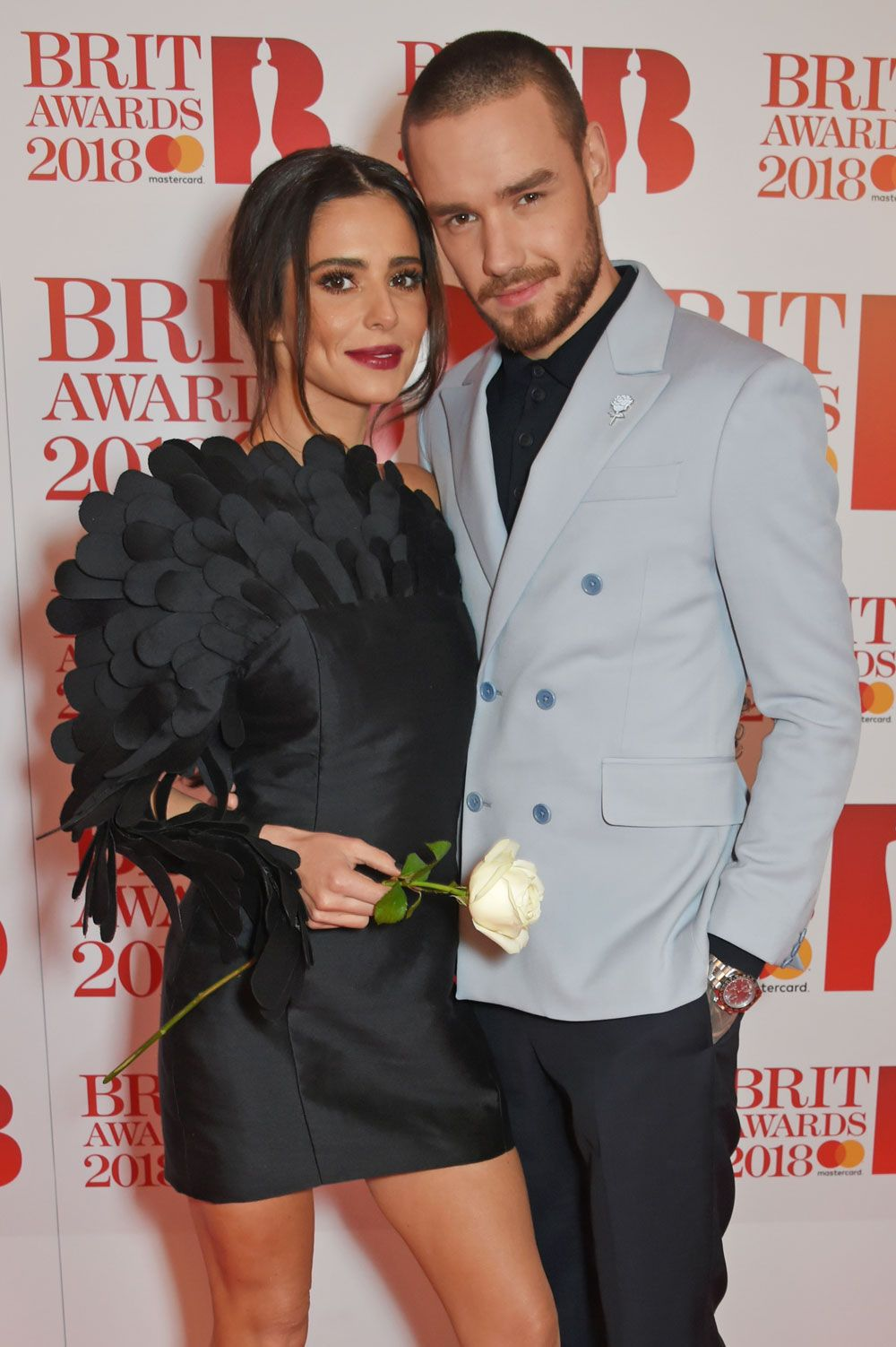 Cheryl Cole Liam Payne Brit Awards