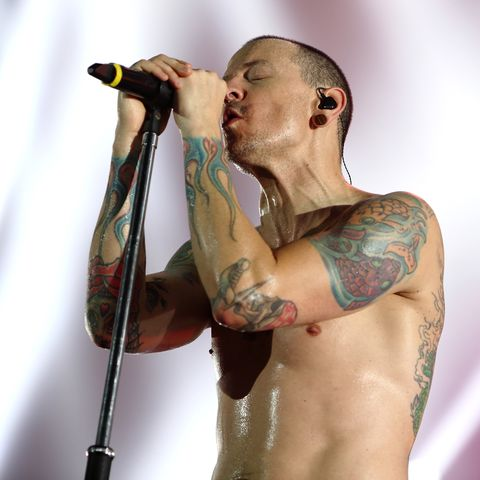 Linkin Park Perform At The 02