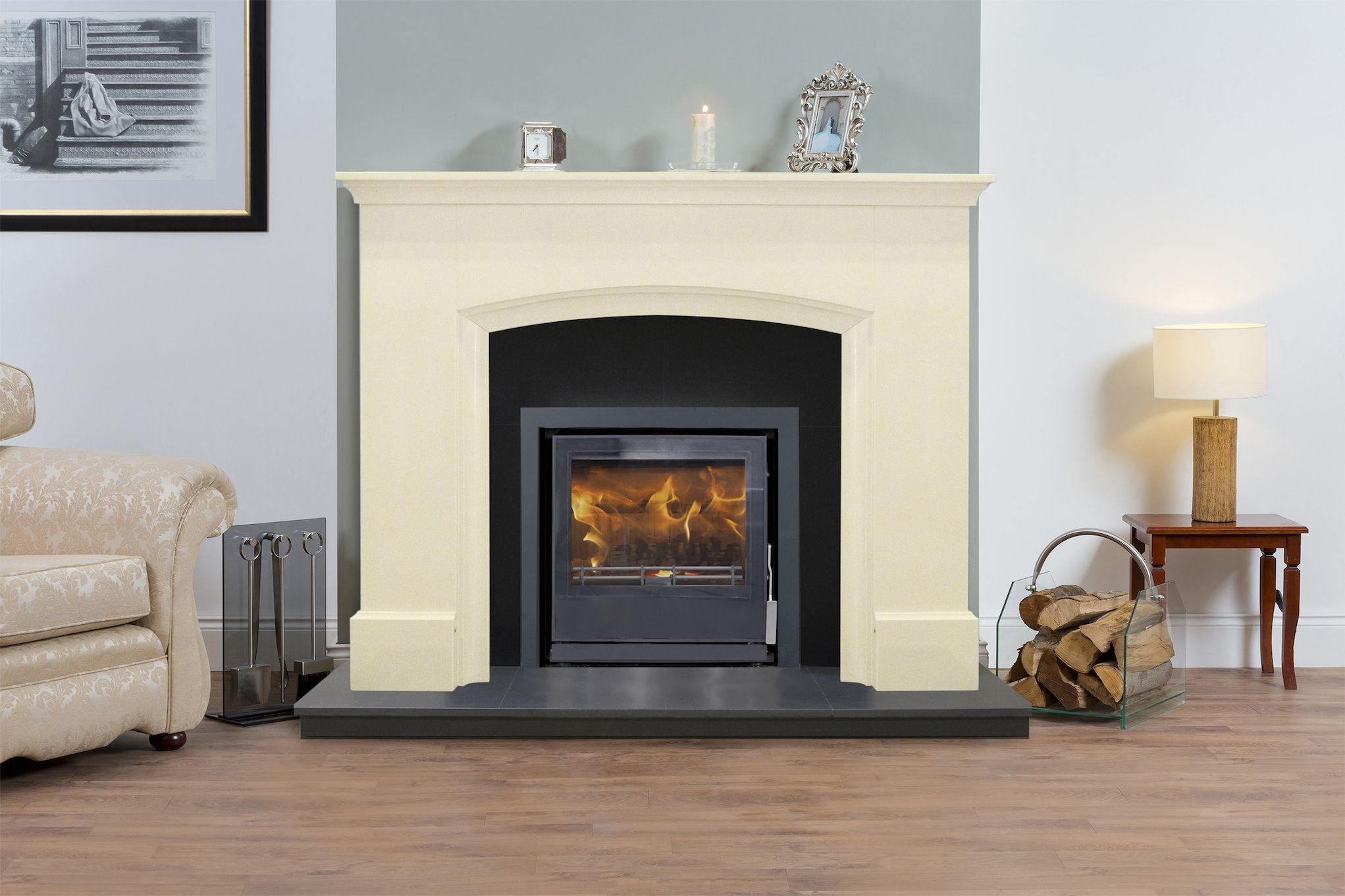 Charmant Fireplace Surrounds