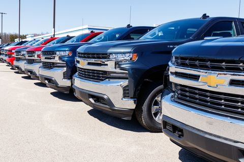 Chevrolet Automobile Dealership. Chevy is a Division of General Motors V